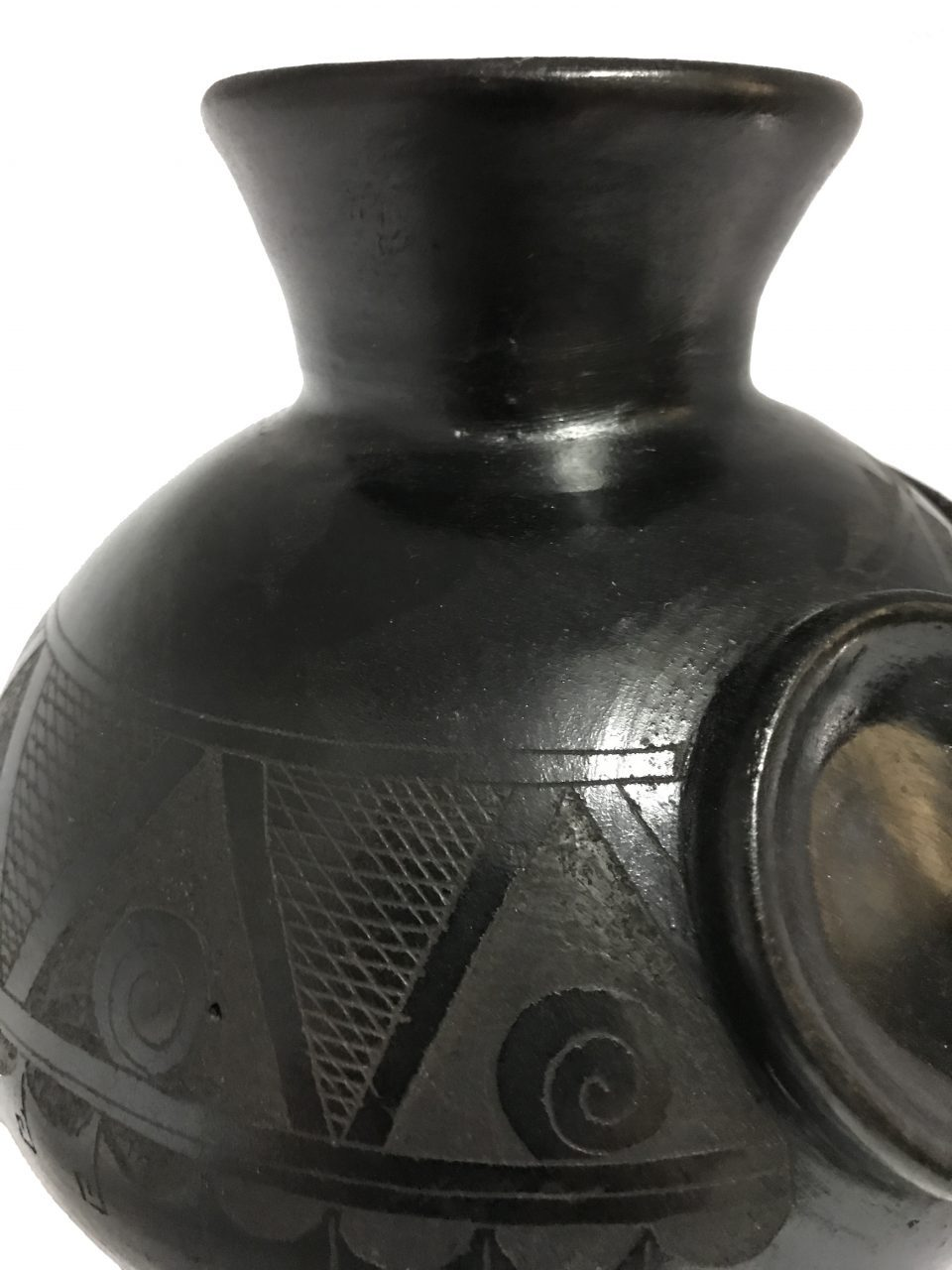 Black Pottery Small Vase (9)