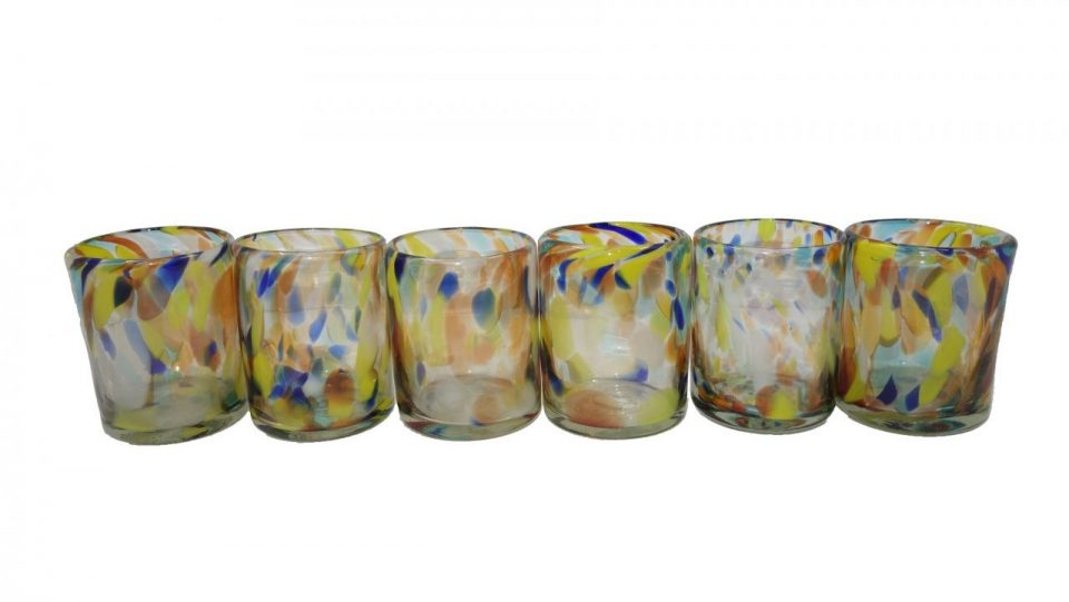 Confetti Blow Glass Set (1)