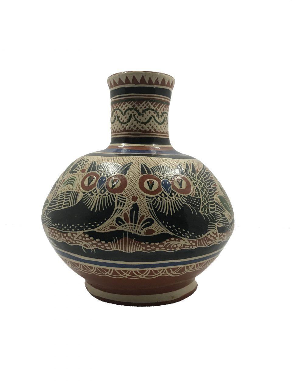 Petatillo Owls & Nahual Vase (1)