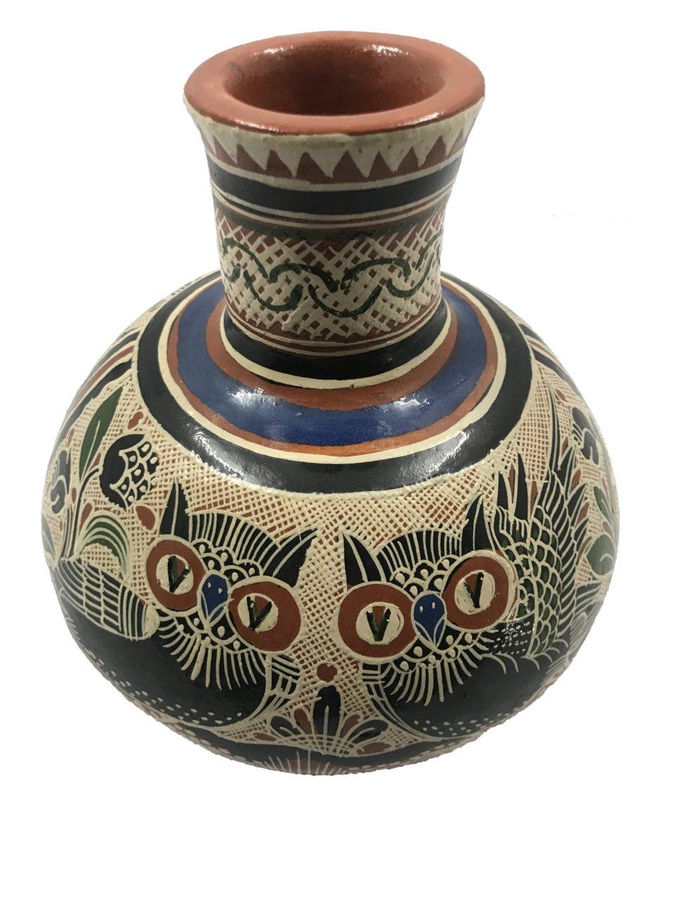 Petatillo Owls & Nahual Vase (10)