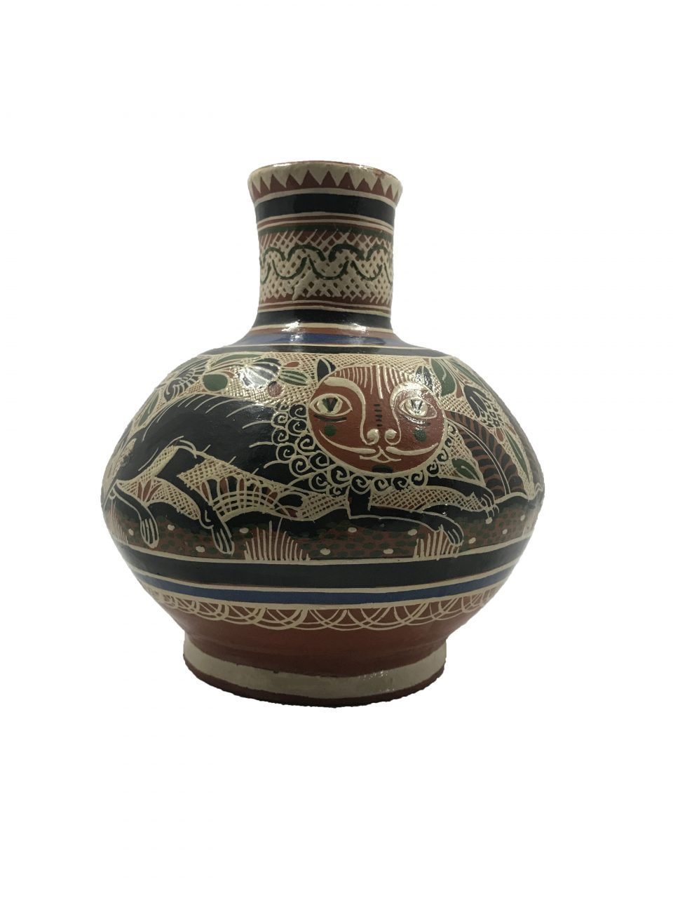 Petatillo Owls & Nahual Vase (2)