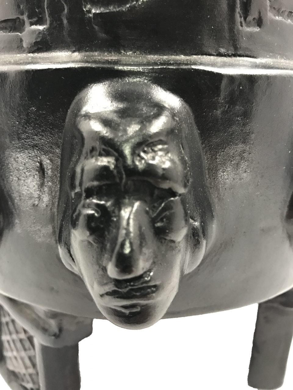 Black Pottery Urn (13)