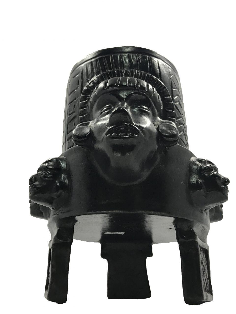 Black Pottery Urn (5)