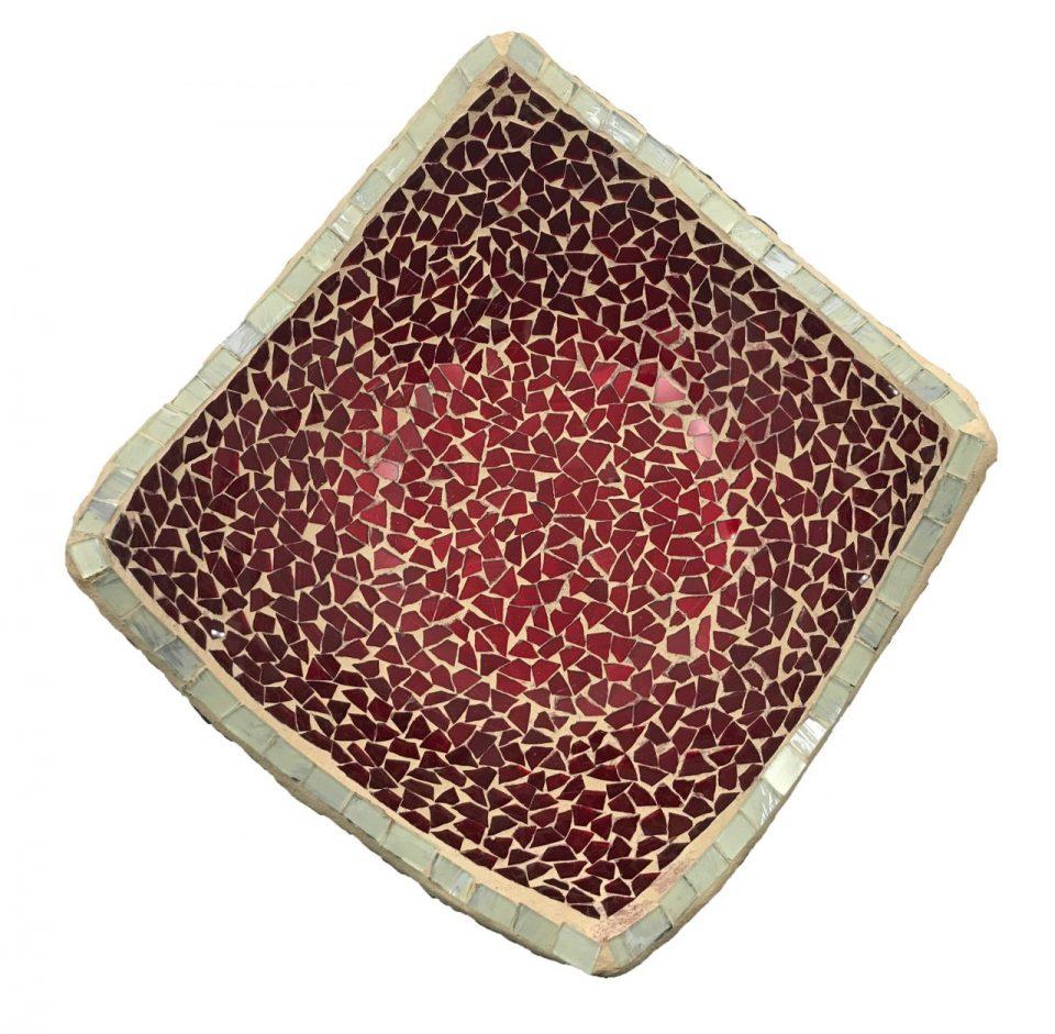 Mosaic Glass Friut Platter (3)
