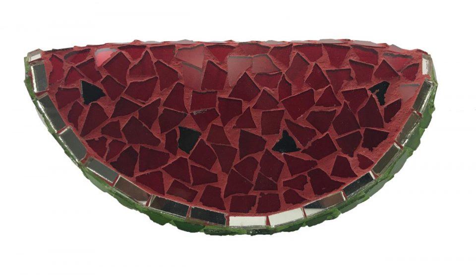Mosaic Glass Friut Platter (7)