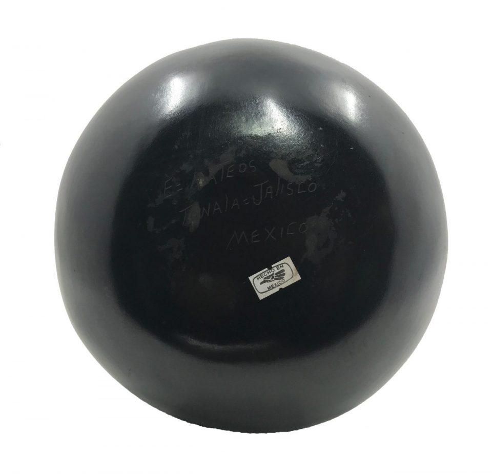 Black Pottery Angled Vase (6)