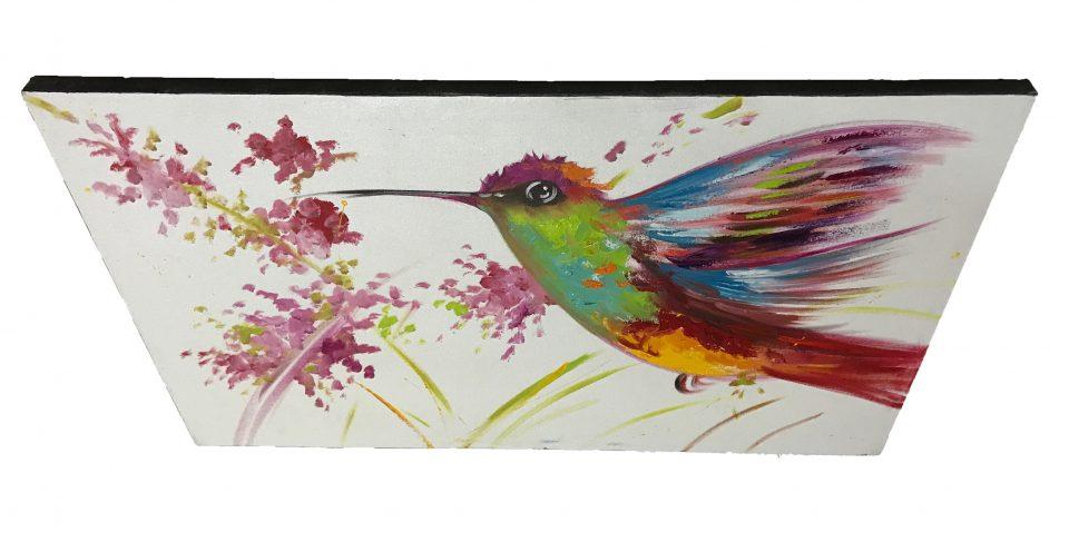Hummingbird Oil Painting (5)