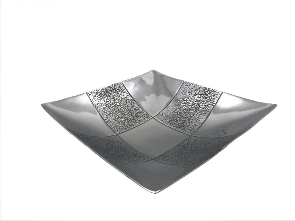 Pewter Square Fruit Platter (2)