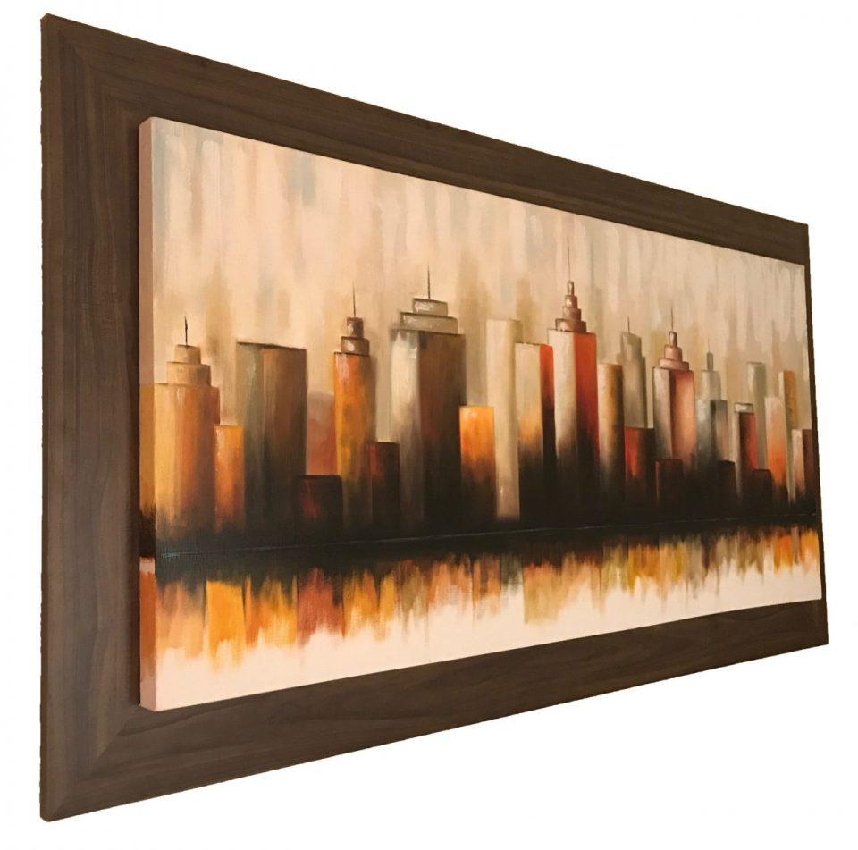Skyline Oil Painting (2)