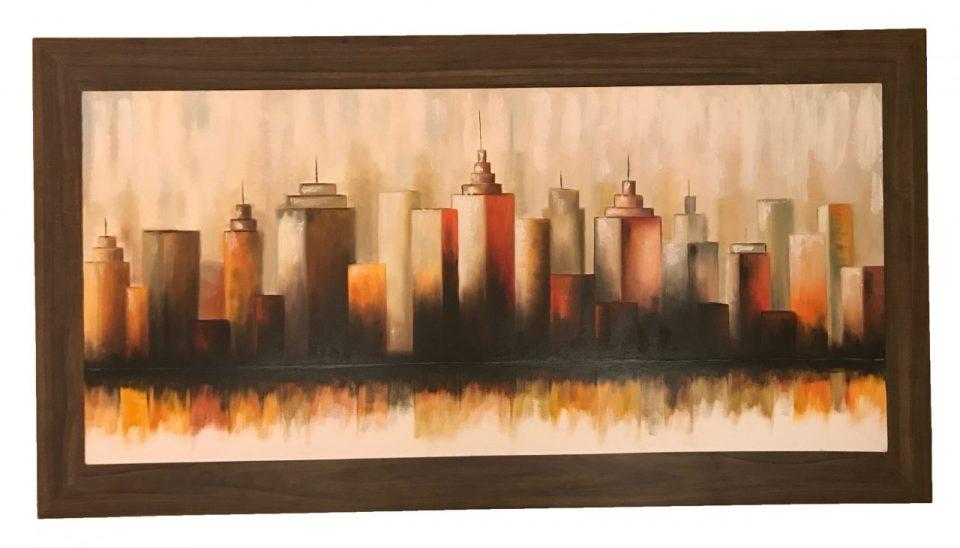 Skyline Oil Painting (3)