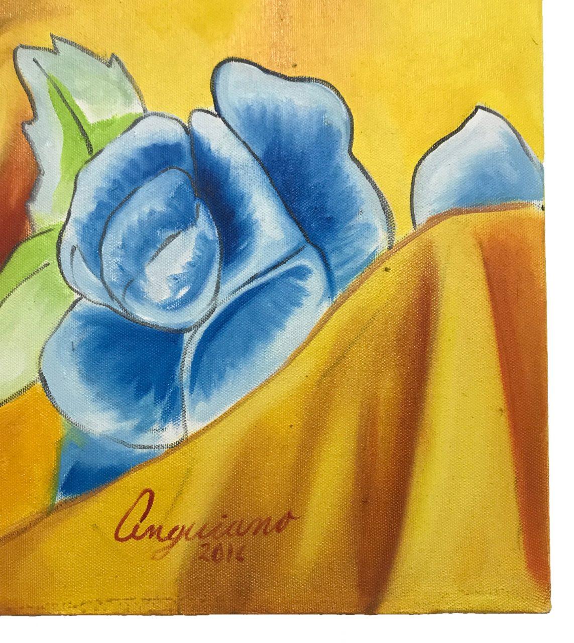 Tarahumara Girl Oil Painting (5)