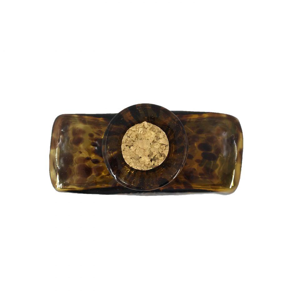 Licorera Jaguar (Vidrio Soplado) (4)