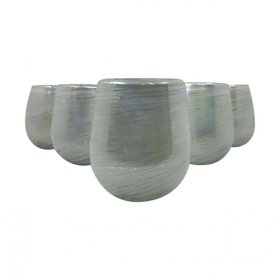 Vasos Aperlados (Vidrio Soplado) (1)
