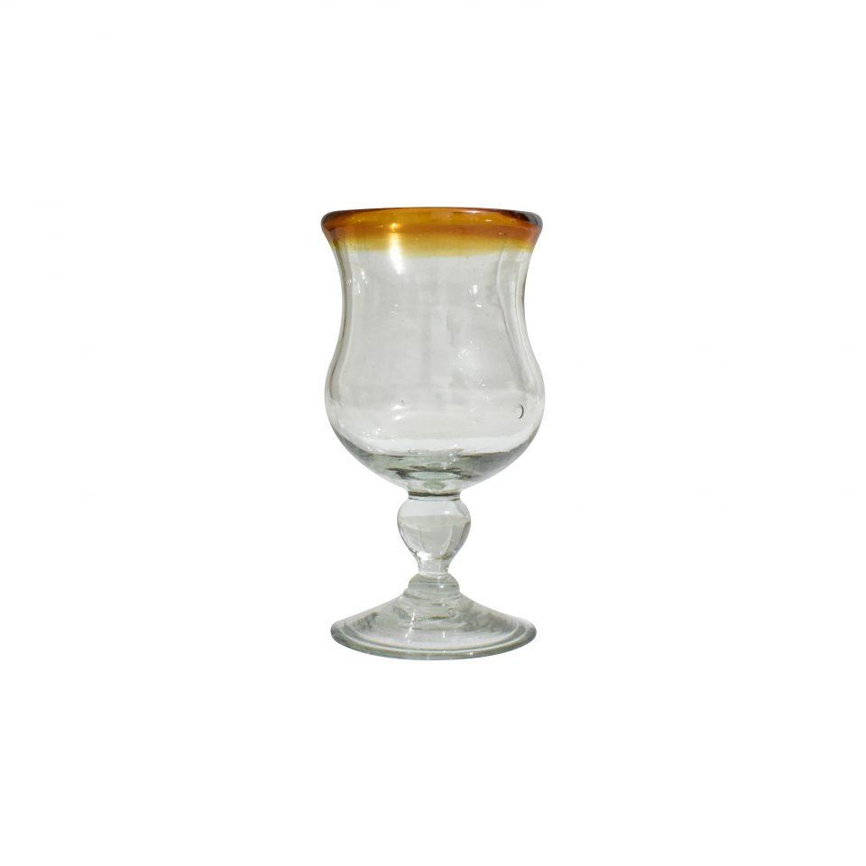 Copas Caliz Vidrio Soplado (5)