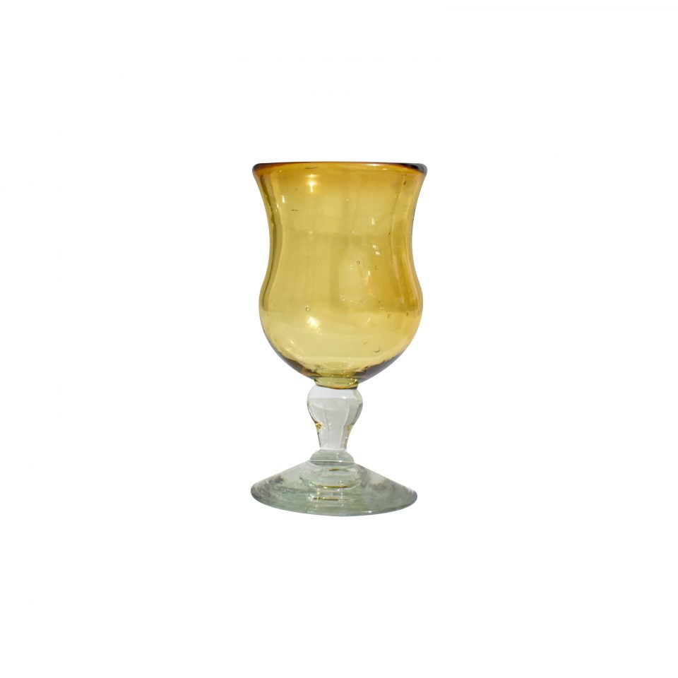 Copas Caliz Vidrio Soplado (6)